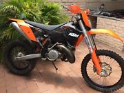 KTM 300 EXC Dapto Wollongong Area Preview