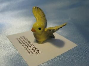 Hagen-Renaker-Bird-Pa-Tweetie-Yellow-Figurine-Miniature-Ceramic-04821-NEW