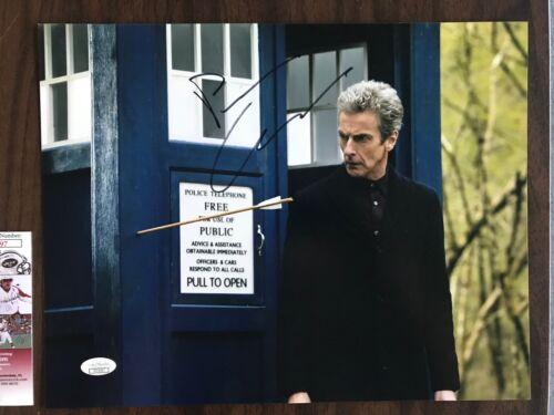 Doctor Who Peter Capaldi Autographed Signed 11x14 Photo JSA COA #4