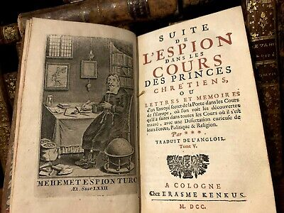 1700 THE SPY IN THE COURTS OF CHRISTIAN PRINCES - Arabs, Portuguese, Persians