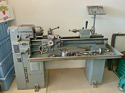 Clausing 4914 10 X 36 Metal Lathe With Accessories. Local Pickup Only