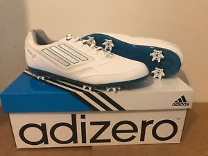 NEW WOMENS ADIDAS ADIZERO TOUR II GOLF SHOES UK 6.5 RRP £89.99 MEDIUM