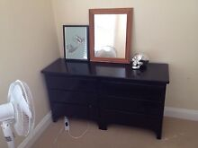 Black chest of drawers- free to good home! Manly Manly Area Preview