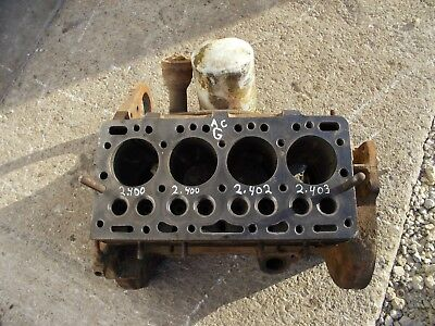 Allis Chalmers G Tractor Original Ac Engine Motor Block
