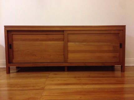 Solid Teak Double Sideboard Naremburn Willoughby Area Preview