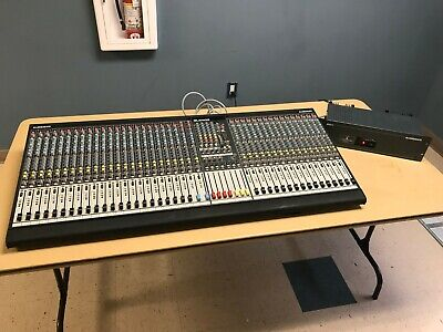 Allen & Heath GL2400 Mixer 40 channel with Power Supply as shown in photos