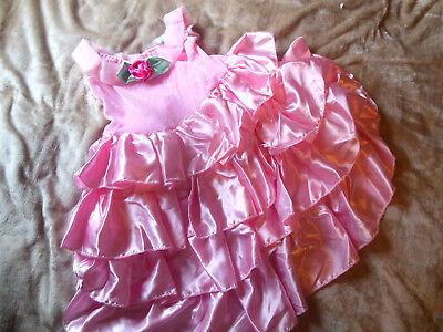 Traumschönes Kostüm-Kleid Prinzessin Gr 116 Dornröschen~Ballerina~Fee (Rosa Dornröschen Kostüm)