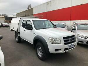 2008 Ford Ranger XL CAB CHASSIS Manual TURBO DIESEL Lilydale Yarra Ranges Preview