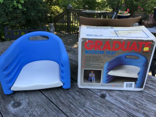 VTG 1987 The Graduate Pansy Ellen Adjustable Height Booster Seat Chair w BOX 415