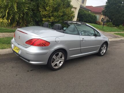 2006 Peugeot 307 CC convertible $9500 Glenwood Blacktown Area Preview