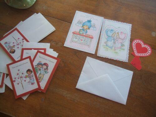 Hallmark Betsey Clark Vintage Valentine Cards 2 of them 1972 plus more
