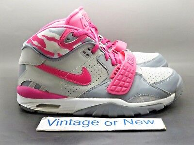 online retailer 0590b 6b407 Girls  Nike Air Trainer SC II Vivid Pink Grey White Bo Jackson 2014 sz 7Y