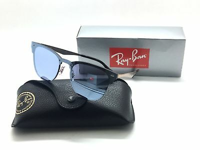 Ray Ban 3576 N 9039/1U Blaze Clubmaster Copper Violet Mirror 41mm  Sunglasses