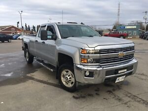 2015 Chevy 2500HD cab and a half