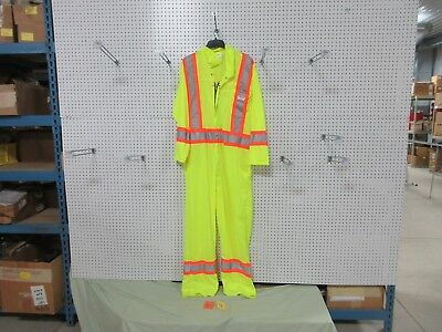 Honeywell Lsa-z96 Coveralls Tvpp172l56 Safety Yellow Construction Reflector