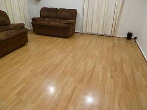 Floating laminate flooring well warn Approx 21 Sqm Trott Park Marion Area Preview