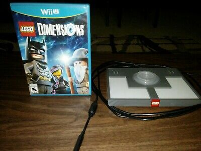 Lego Dimensions (Nintendo Wii U, 2015) Game and Portal Pad Excellent