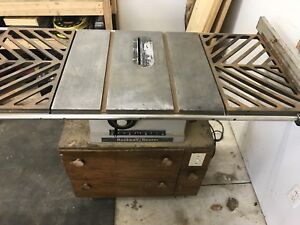 """Rockwell beaver 10"""" table saw"""