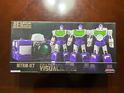 Make Toys - RM-07 Visualizers 3rd Party Transformers - Sealed Box - MakeToys