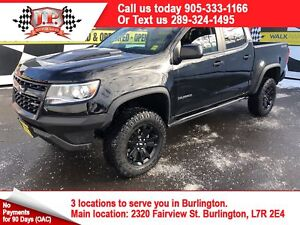 2018 Chevrolet Colorado ZR2 Off Road Package, Diesel, Leather,