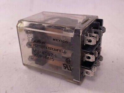 Potter Brumfield Ku-4597-1 Relay 10a 120v Used