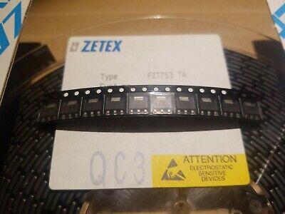Fzt753 Ta Shipped From Usapnp 100v 2a Sot-223 Zetex Fzt753ta 10-pcs.