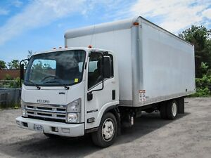 2013 Isuzu NRR NU4 5.2L Diesel, 20FT BOX with RAMP,AIR,AUTOMATIC