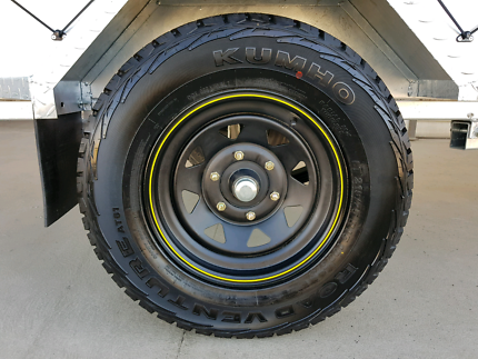 "New wheels and tyres, 15"" 6 stud Toyota Landcruiser stud pattern. Delacombe Ballarat City Preview"