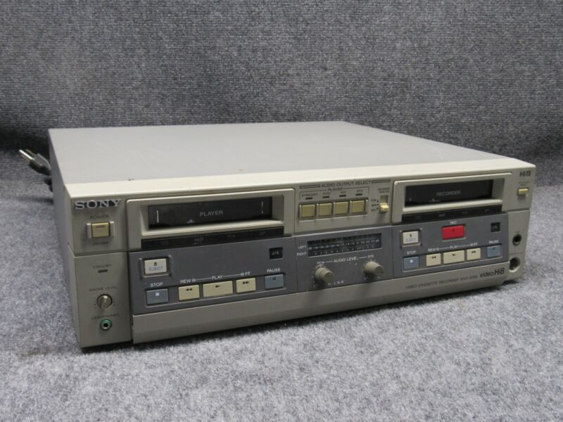 Vintage Sony EVO-9700 High-End Professional Video Hi8 Recorder Player *Tested*