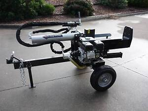 CAN FREIGHT!!! 28 TON LOG SPLITTER 6.5 hp Petrol Hydraulic B/NEW Hallam Casey Area Preview