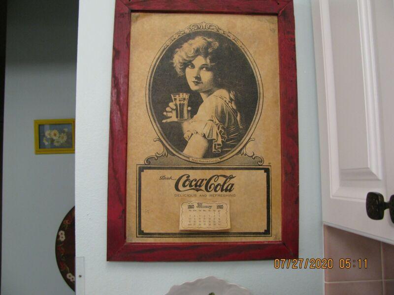 Coca Cola Calander