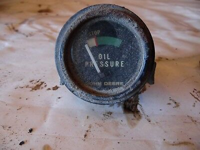 John Deere Model 50 Farm Tractor Oil Gauge