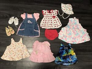 Baby Girl Size 3-6 Month Clothing Lot