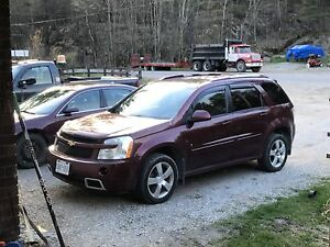 2008 Chevrolet Equinox Sport with leather and sunroof!