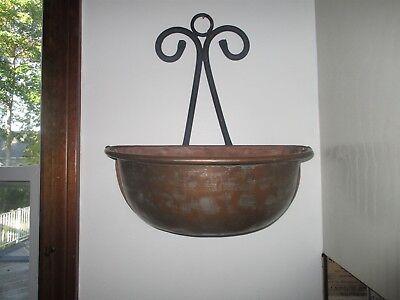 Large Metal Wall Pocket /Hanging Wall Planters Basket