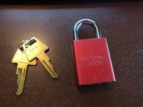 american lock series 100 with 2 keys