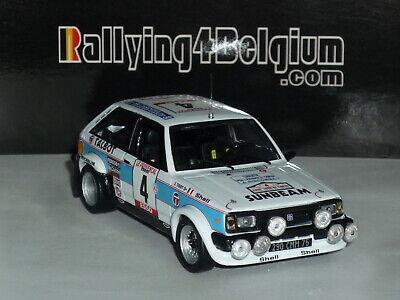 1/43 IXO Talbot Sunbeam Lotus #4 Rally Tour de Corse 1979 Nicolas RAC134