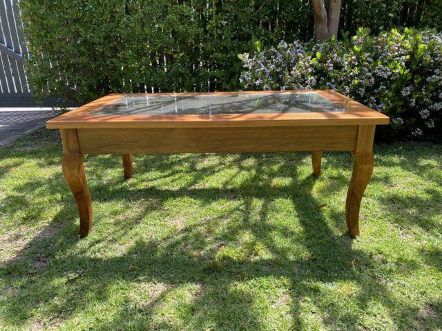 Glass Top Coffee Table | Coffee Tables | Gumtree Australia ...