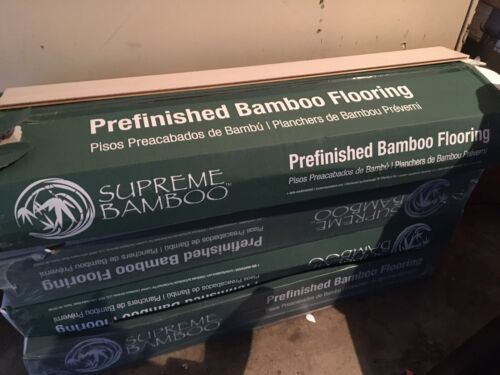 supreme bamboo flooring wood prefinished new 4