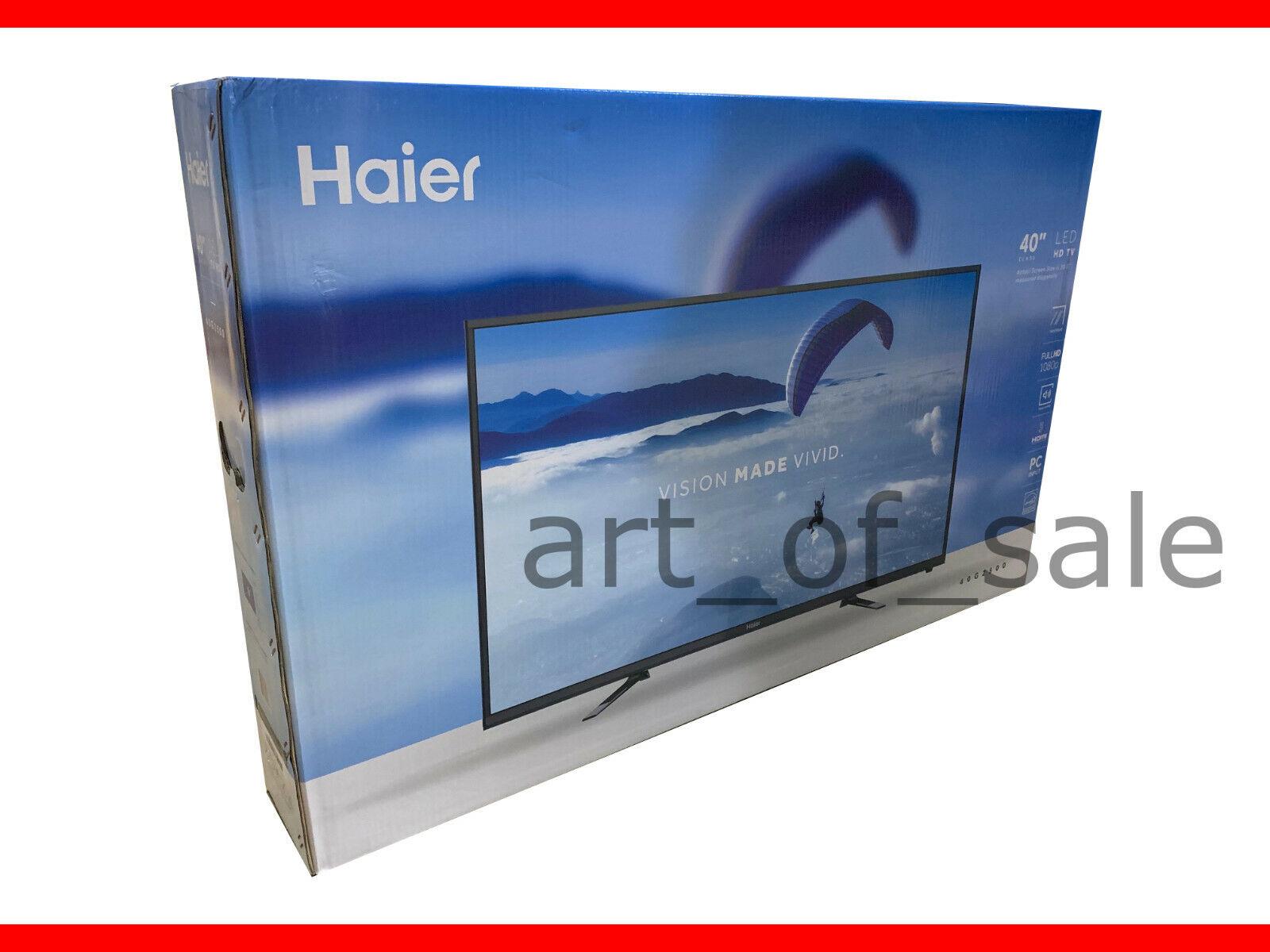 """Haier 40G2500 40"""" 1080p 60Hz D-LED HDTV - Black NEW"""