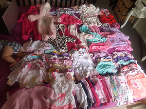 Bulk baby girls clothing 0000-000 Alexandra Hills Redland Area Preview