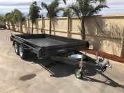 Heavy duty deluxe tandem box trailer,12x6'6, c/p ramps Swan Hill Swan Hill Area Preview