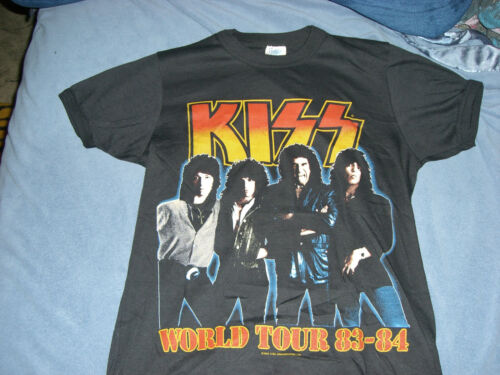 KISS VINNIE VINCENT LICK IT UP VINTAGE T-SHIRT