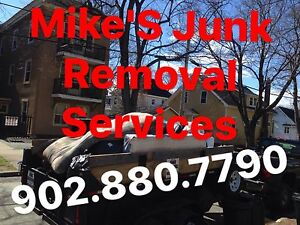 Get rid of your Junk With Mike's Junk Removal 902.880.7790