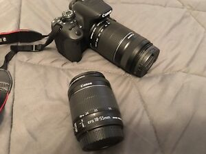 Canon t5i camera with extras