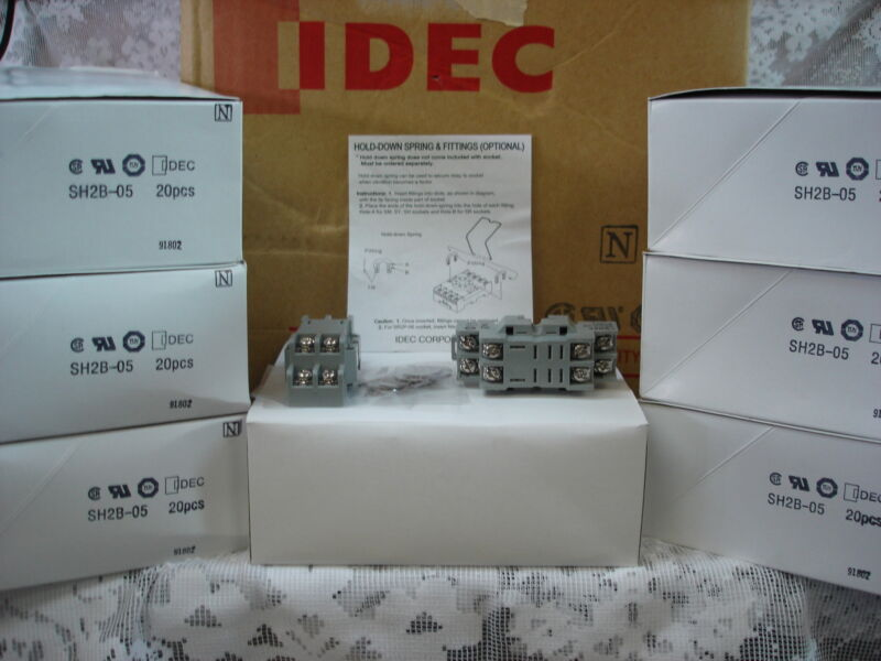 SH2B-05C IDEC Relay Socket, Box of 20