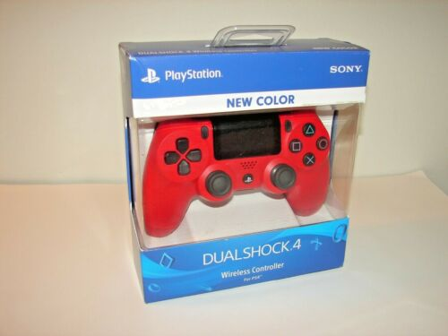Sony DualShock 4 (3001549) Wireless Controller for PlayStation 4 - Red *NEW*