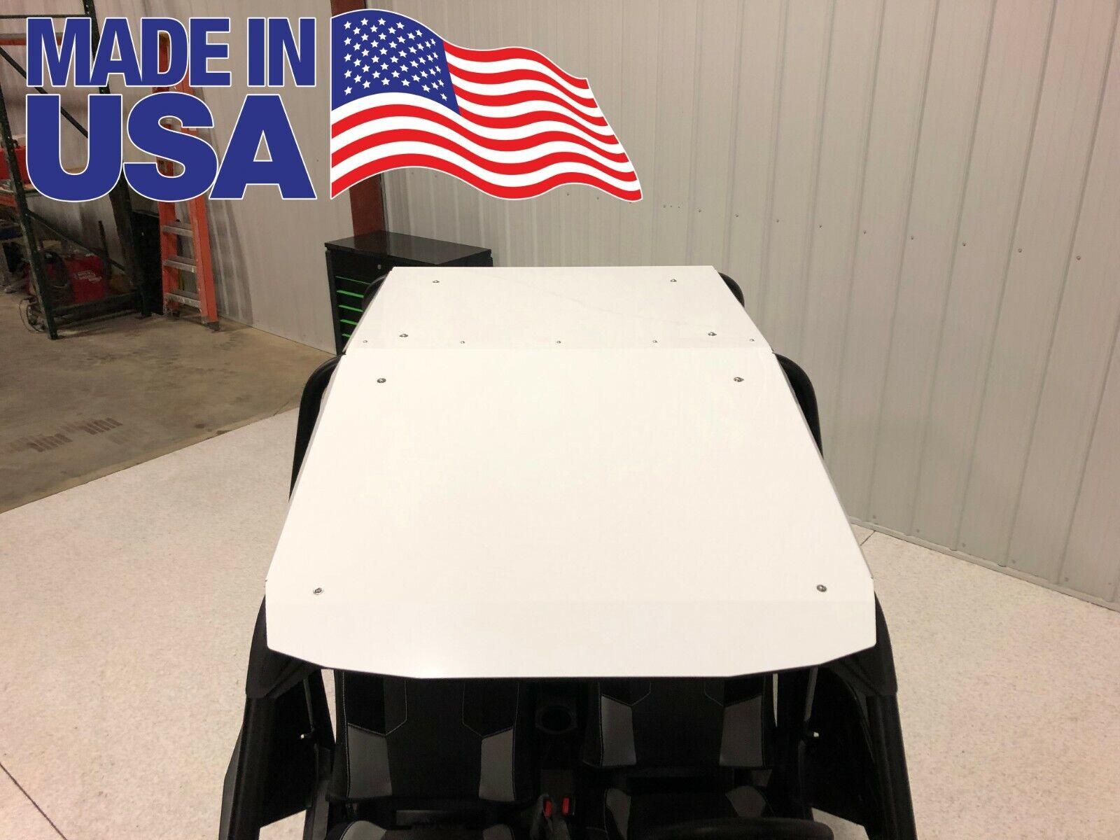 POLARIS RZR4 4 SEATER CREW 900 1000 XP TURBO Roof - WHITE Aluminum USA Made