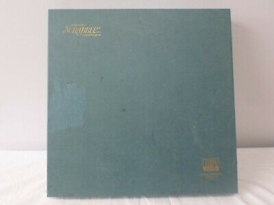 Scrabble Brand Crossword Game Deluxe Turntable Edition Selchow & Righter 1977
