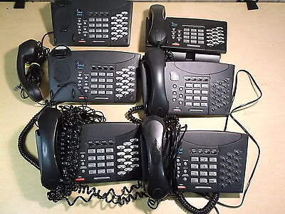 Telrad Avanti 15-button Non-display Business Phone Lot Of 6 Free Shipping
